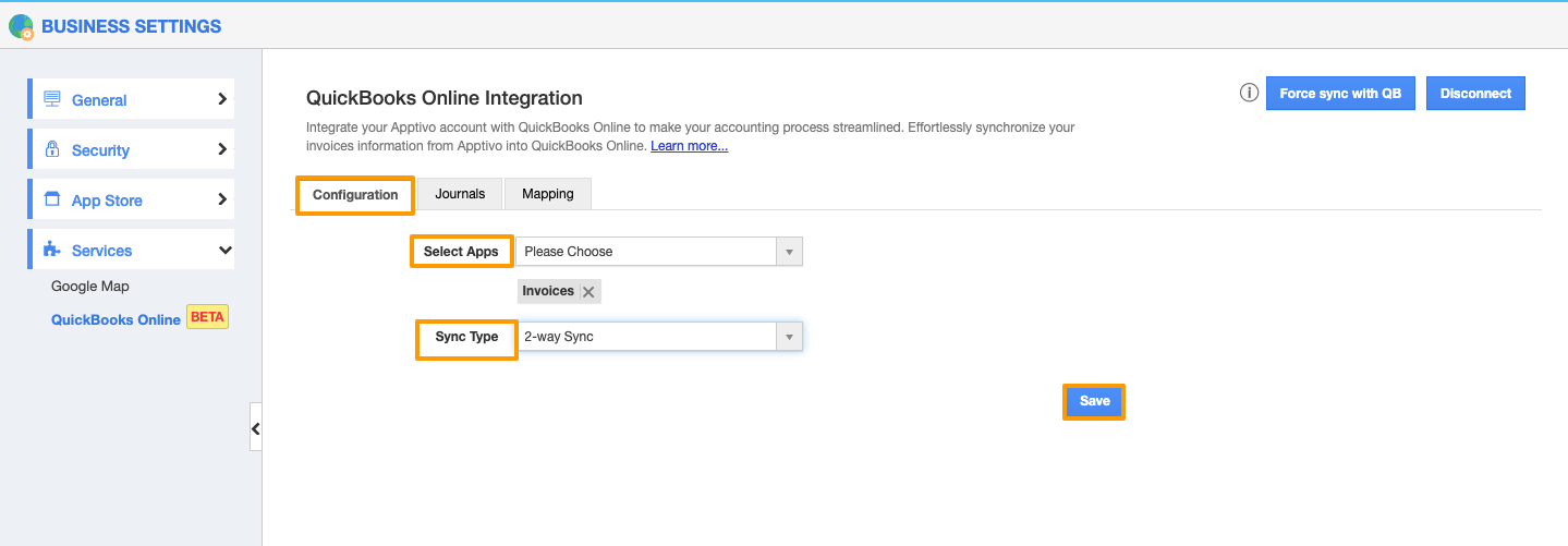 Two Way Sync in QuickBooks Online Integration